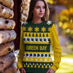 Green Bay Packer Ugly Christmas Sweater